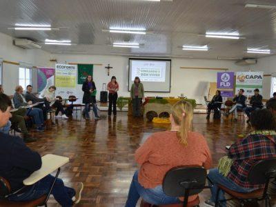 Encontro reúne participantes do projeto Ecoforte Rede CAPA de Agroecologia