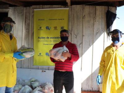 Famílias em vulnerabilidade no Sudoeste do Paraná recebem cestas de alimentos agroecológicos