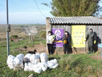 Ação humanitária conecta agricultura familiar e famílias em situação de vulnerabilidade