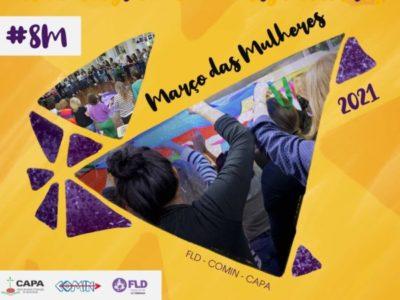 FLD-COMIN-CAPA se junta aos movimentos e coletivos na programação do Dia Internacional da Mulher